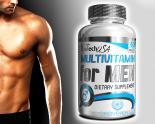 BioTechUSA multivitamin for men 60db tabletta
